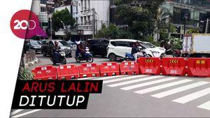 Massa Buruh Tolak Omnibus Law Lanjut ke DPRD DKI