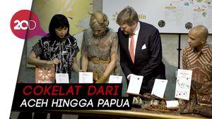 Raja dan Ratu Belanda Nikmati Cokelat Indonesia di Pipiltin Cocoa
