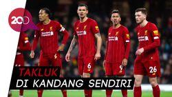 Keok dari Atletico, Liverpool Terdepak dari Liga Champions