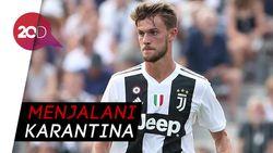 Pemain Juventus Daniele Rugani Positif Corona
