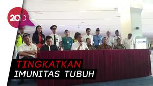Lawan Corona: Jokowi Ajak Warga Olahraga dan Jangan Stres