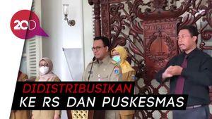 40 Ribu APD Tiba di Balai Kota DKI Siap Lindungi Tenaga Medis