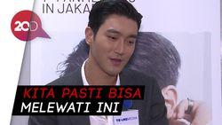 Pakai Bahasa Indonesia, Siwon Suju Tulis Pesan soal Corona