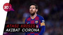Buntut Pandemi Corona, Barcelona Potong Gaji Messi cs