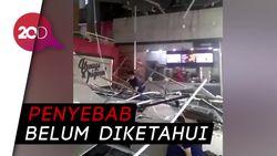 Atap Plafon Bekasi Junction Roboh, 7 Orang Terluka