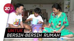Cara Bikin Cairan Disinfektan Rumahan ala Keluarga Ruben Onsu