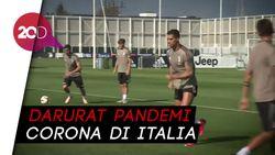 Ronaldo Cs Sepakat Potong Gaji di Juventus karena Corona