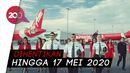 Dampak Corona, AirAsia Indonesia Tutup Sementara
