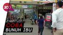 Momen Pria Berpisau Bikin Repot Polisi di Tangerang