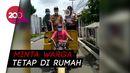 Naik Motor Pengangkut Sampah Danrem 061 Imbau Warga Bogor