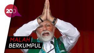 Warga India Panik Dilockdown
