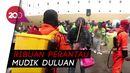 Mudik Duluan, Perantau dari Kalimantan Tiba di Pelabuhan Nusantara
