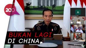 Jokowi: AS dan Eropa Jadi Epicentrum Corona