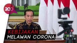 Pandemi Corona, Jokowi Teken PP Pembatasan Sosial Berskala Besar