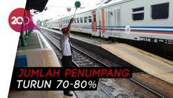 PT KAI Daop I Jakarta Batalkan 44 Perjalanan KA Jarak Jauh
