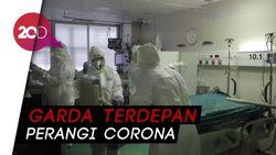 Petugas Medis di Spanyol Bertaruh Nyawa