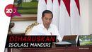 Jokowi: Pemudik dari Jabodetabek Berstatus ODP Corona