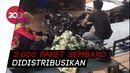 Bulog Distribusikan Ribuan Paket Sembako kepada Warga Kota Kendari
