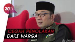 Ridwan Kamil Minta Pemakaman Pasien Corona Dikawal TNI-Polri