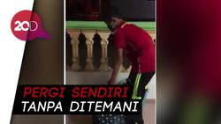 Isak Tangis Iringi Penjemputan Bocah yang Positif Corona di Malaysia