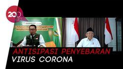 Tanggapi Keluhan Ridwan Kamil, Maruf Amin Dorong Fatwa Haram Mudik