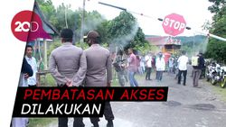 Desa di Kabupaten Barru Terapkan Karantina Lokal, Polisi Turun Tangan