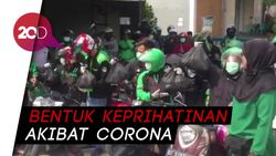 Imbas Corona, Jurnalis di Kendari Bagikan Ratusan Paket Sembako