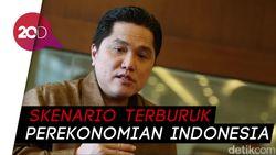 Buntut Corona, Erick Thohir: Dollar Bisa Tembus Rp20.000