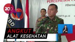 TNI Kerahkan Alutsista untuk Angkutan Logistik-Alat Kesehatan terkait Corona