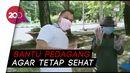 Pandemi Corona, Dokter Forensik Edukasi Pemakaian Masker untuk Pedagang