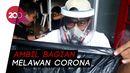 Bantu Lawan Corona, Jurnalis Parepare Bikin Face Shield Buat Tenaga Medis