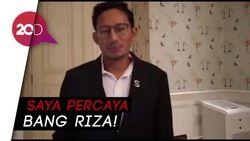 Pesan Sandiaga Uno untuk Wagub DKI Terpilih