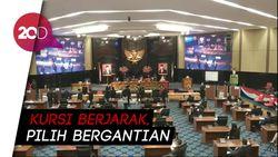 DPRD DKI Gelar Pemilihan Wagub, Rapat Terapkan Social Distancing