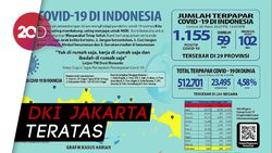 Cek Sebaran 2.491 Kasus Positif Corona Indonesia