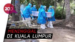 TKW Asal Polman Dimakamkan dengan Protap Covid-19