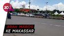 Ada Penyemprotan Disinfektan, Maros Arah Makassar Macet 11 KM