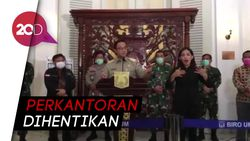 PSBB Jakarta, Perkantoran Ditutup, Kecuali 8 Sektor Ini