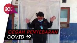 Anggota DPRD Sultra Sumbang Bilik Disinfektan untuk Rumah Sakit