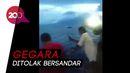 Video Penumpang KM Lambelu Terjun ke Laut, Panik Ada Suspect Corona