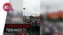Antrean Kendaraan yang Masuk Kota Makassar Imbas dari Cek Suhu Tubuh