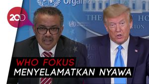 Diancam Donald Trump, WHO Tak Peduli