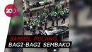 Jokowi Diam-diam Bagikan 400 Paket Sembako di Jakpus