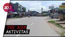 Suasana Kota Kendari: Jalanan Sepi, Pasar Tutup