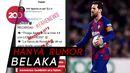 Soal Pindah ke Inter, Messi: Hoax!