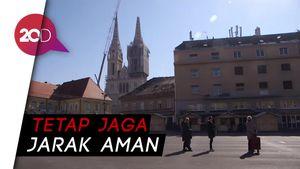 Pasar di Kroasia Dibuka dengan Syarat Sangat Ketat