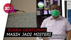 Sebelum Dentuman di Jakarta, Ada Gempa M 2,4 Gunung Anak Krakatau