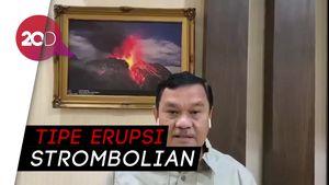 Penjelasan Badan Geologi soal Erupsi Anak Krakatau dan Dentuman