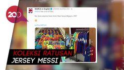 Penggila Messi dari Indonesia Disorot Media Spanyol
