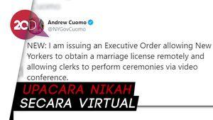 Lockdown karena Corona, Bisa Nikah Online di New York