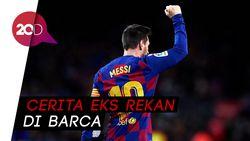 Fabregas: Messi Ingin Pensiun di Barcelona